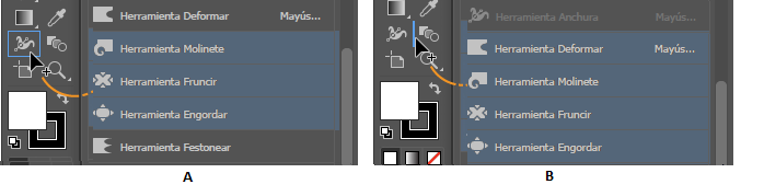 35f958a9b060 Uso de herramientas en Illustrator