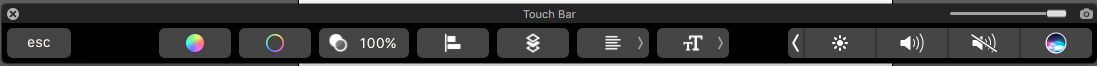 touchbar-single-text-object