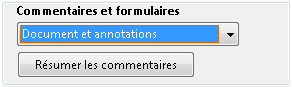 Options d'impression