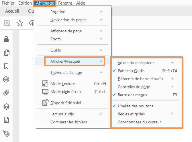 Affichage Des Documents Pdf Et Preferences D Affichage Adobe Acrobat