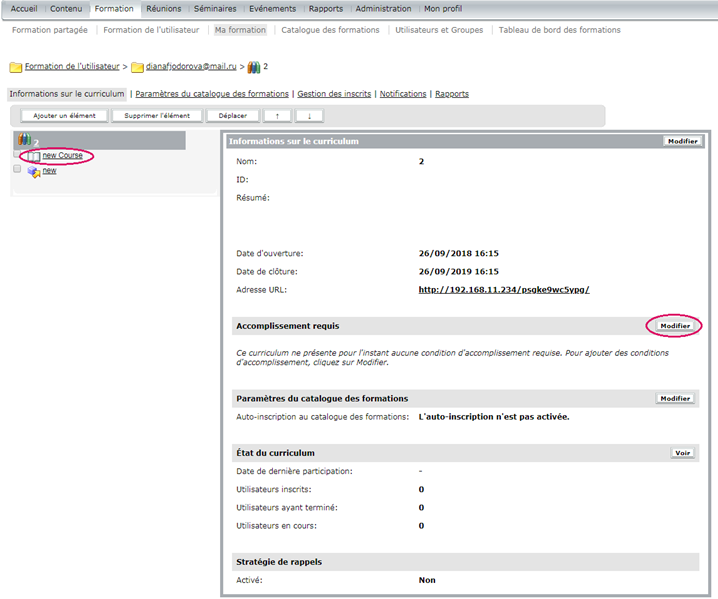 cr u00e9ation et gestion des curriculums adobe connect