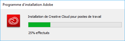 Installez l'application de bureau Creative Cloud