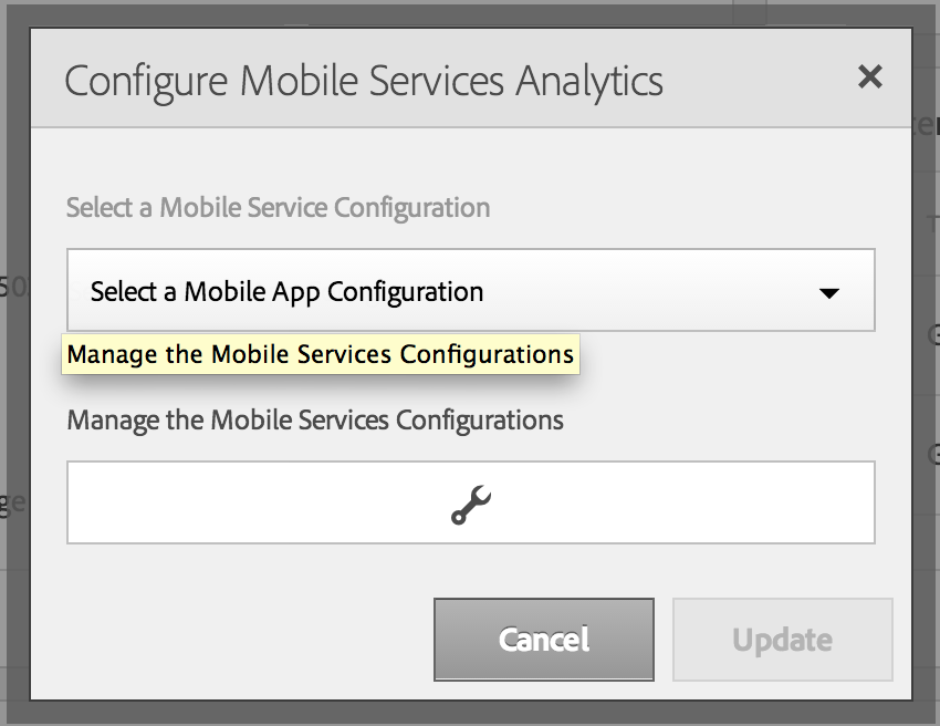 Configuration de Mobile Analytics