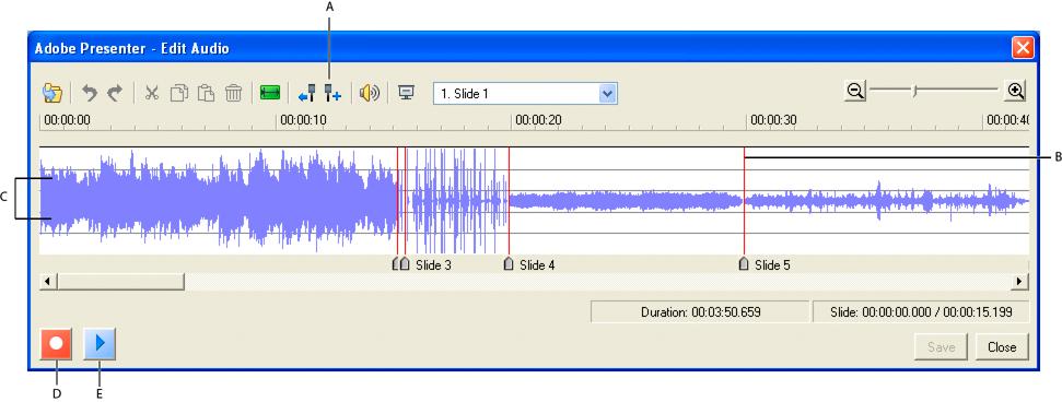Donn es audio dans les pr sentations - Couper un fichier audio en ligne ...