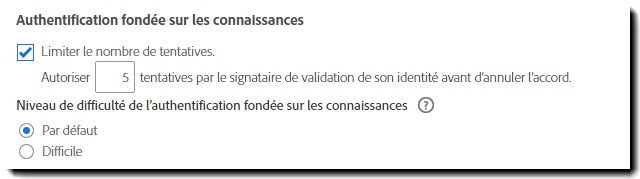 Difficulté de l'authentification KBA