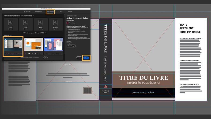 Creation D Une Couverture De Livre Tutoriels Adobe Stock