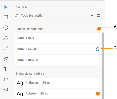 Auto-activation des polices Adobe