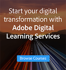 Browse courses from Adobe Digital Learning Services