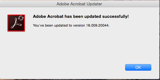 Acrobat Update Causing Problems For Mac