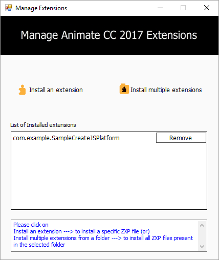 ManageExtensions