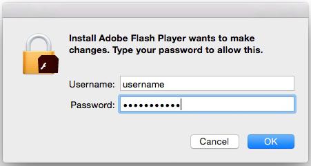 mac mini and flash player