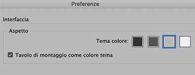 Impostare colore sfondo indesign