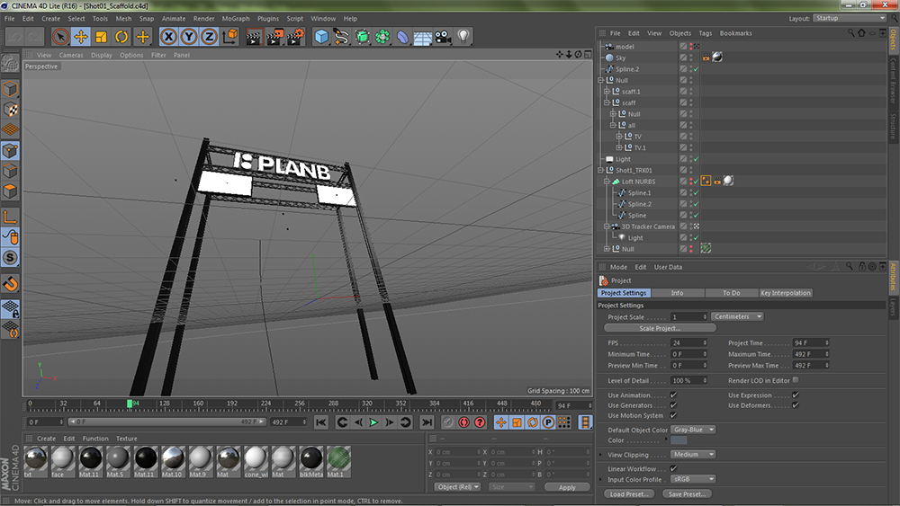 After Effects での Cinema 4D ...