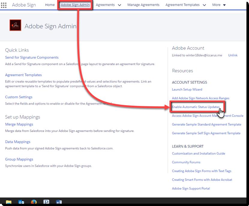 Salesforce 用 Adobe Sign イン...