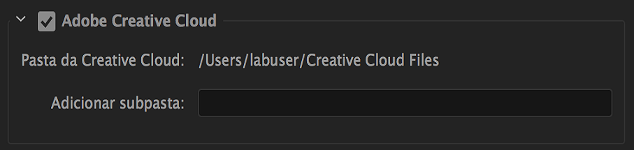 Publicar na Creative Cloud