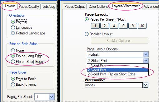 Двусторонняя печать | Adobe Acrobat, Reader DC