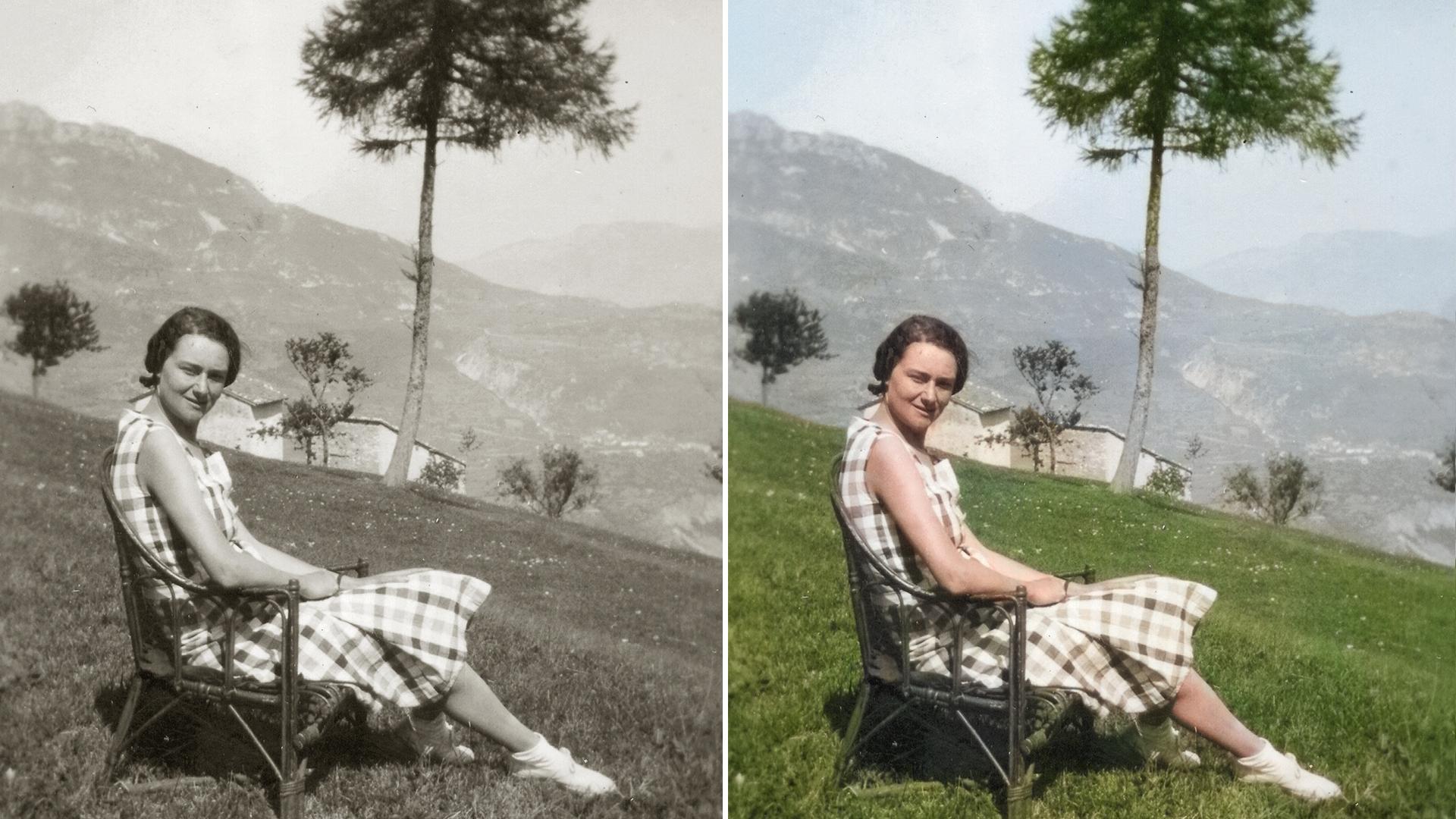 Раскрашивание фотографий в Photoshop Elements