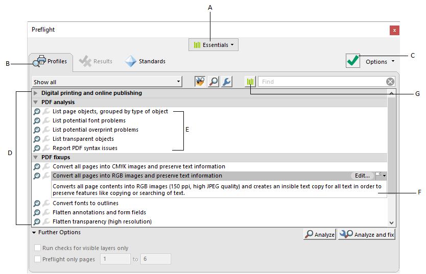 Analýza dokumentov pomocou nástroja Kontrola pred výstupom (Adobe ... faadb1405c6