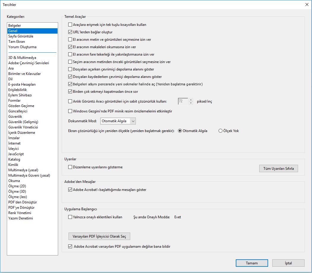 PDF belgesi nasıl düzenlenir: programların gözden geçirilmesi
