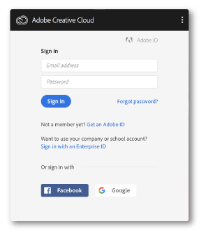 Creative-Cloud-app-sign-in-panel