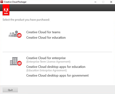Creative Cloud Packager