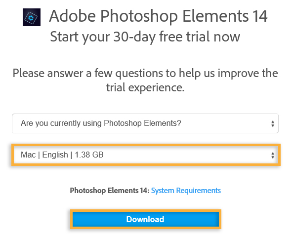 adobe trial download