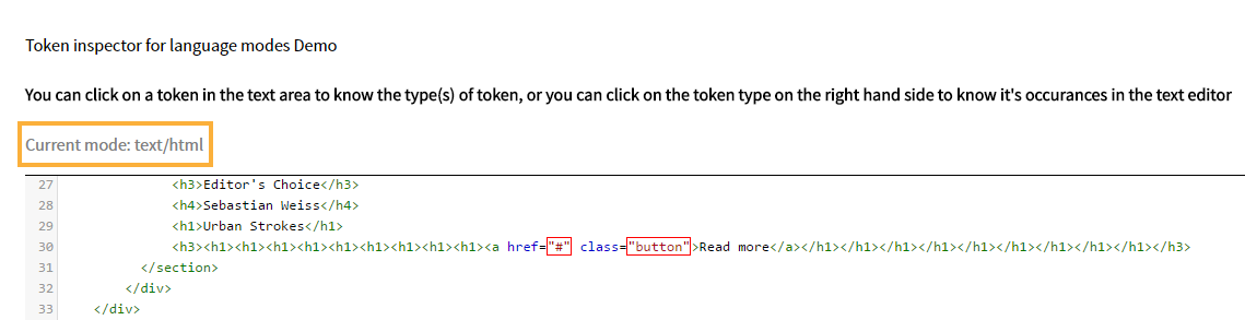 Learn how you can customize the colors of your code elements in mode indication in the token inspector sciox Images