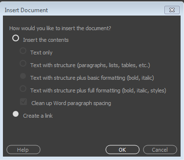 How to link files, documents, or specific elements within or