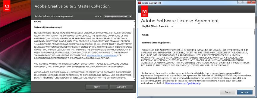 Soluo de problemas de inicializao no adobe creative suite 6 cs5 telas de eula no cs5 e cs6 ccuart Gallery