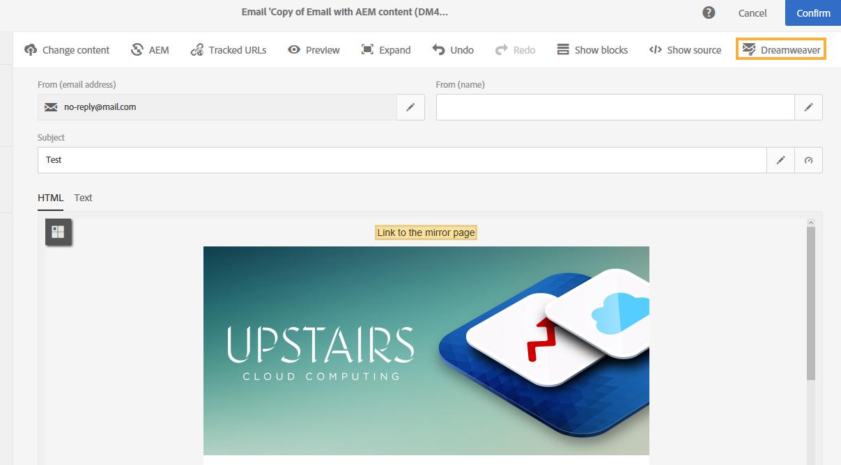 Mit Dreamweaver und Campaign personalisierte E-Mail-Kampagnen ...