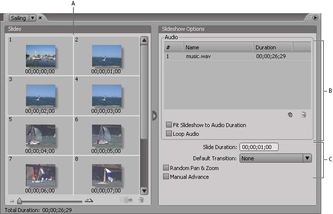Slide show basics