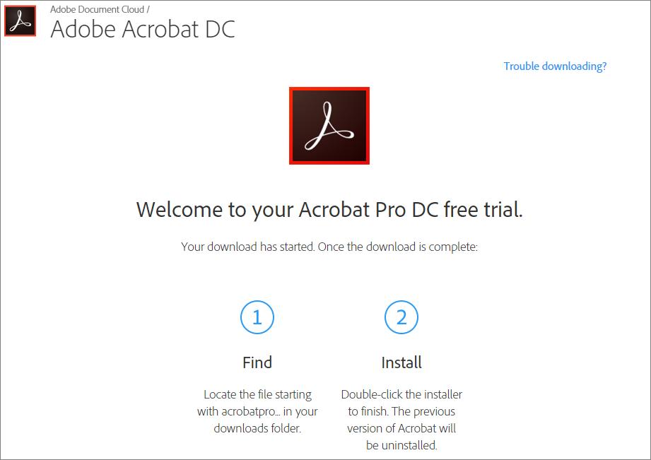 546aef3cc45f7 Prueba Gratuita Adobe Acrobat Professional