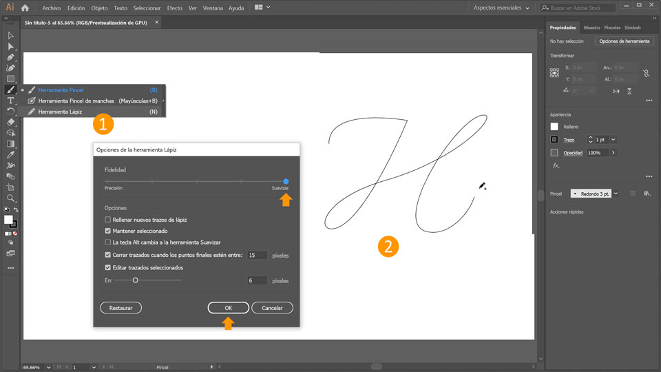 Cómo Crear Letras En 3d En Illustrator Tutoriales De Adobe Illustrator