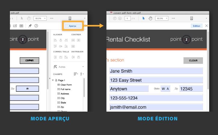 convert pdf form to static pdf