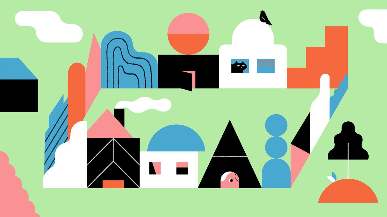 dessin de b u00e2timents dans illustrator