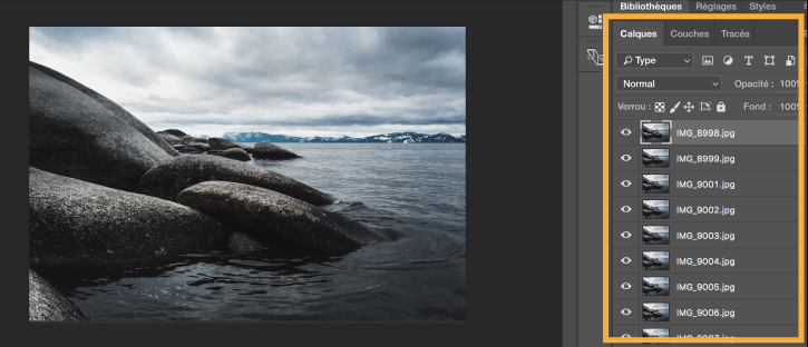 how to make a gif from 2 pictures in photoshop