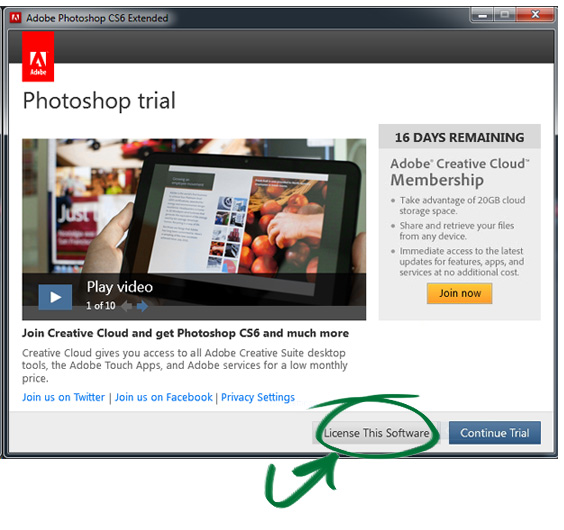 serial number for adobe photoshop cs6