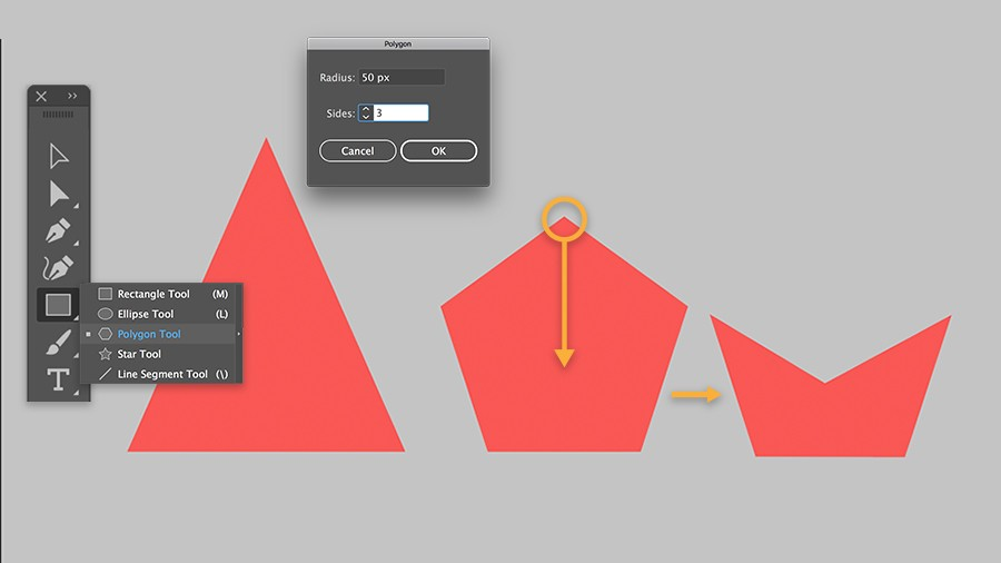 how to draw and create basic shapes adobe illustrator cc