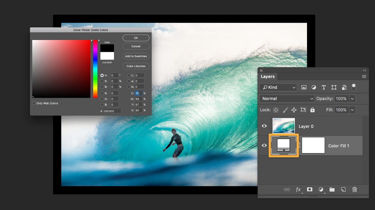 How to add a border or frame around a photo in Photoshop | Adobe ...