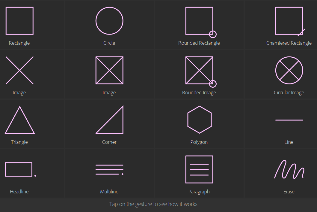 Touch workspace in indesign