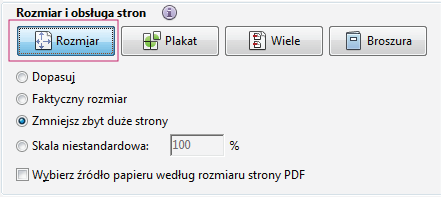 how to resize pdf file using adobe reader
