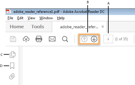 Save, view, and search PDFs, Adobe Acrobat Reader