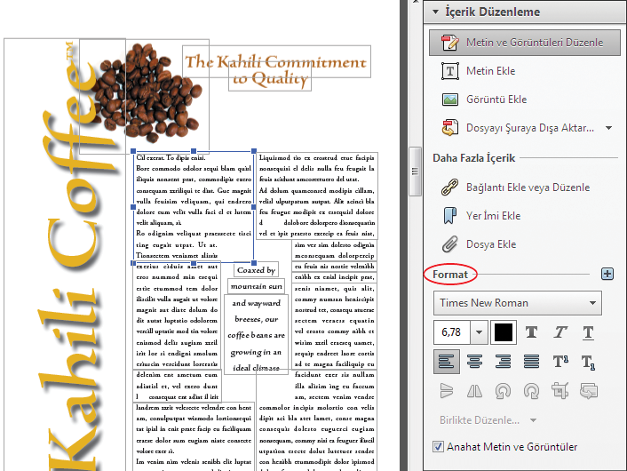 add text to pdf using acrobat