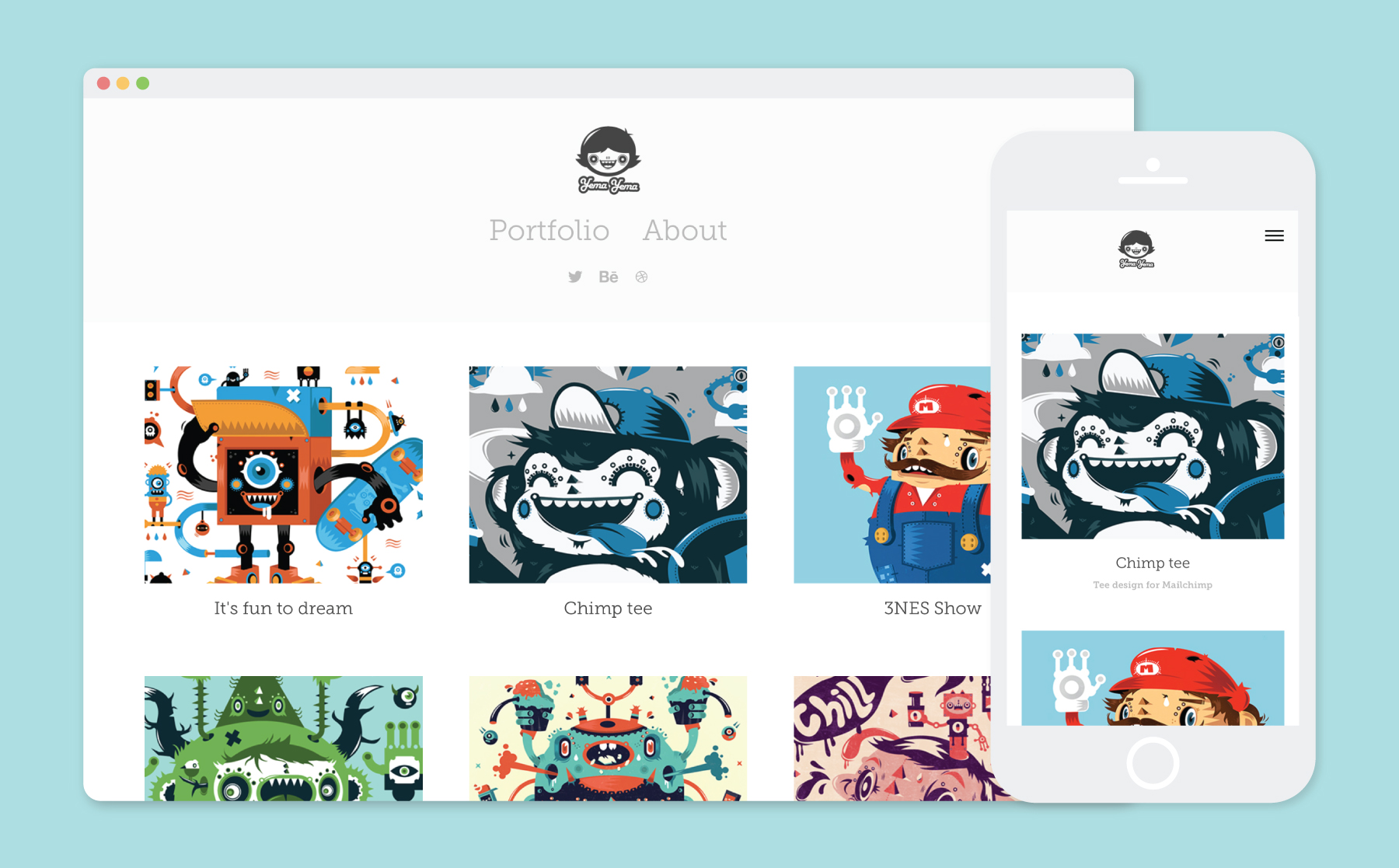 Professional Character Design Portfolio : How to create a portfolio website adobe creative cloud