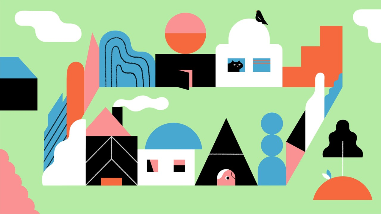 Draw With Shapes, Lines, And Color How To Draw Buildings In Illustrator  Adobe Illustrator