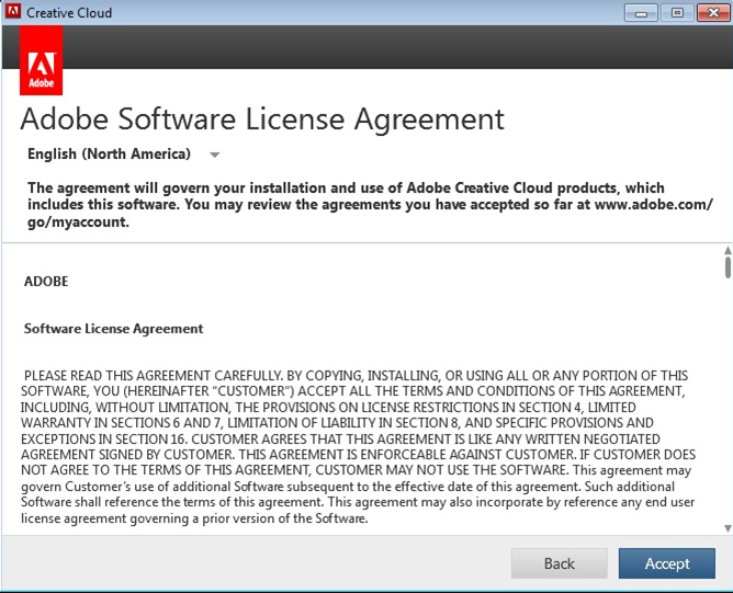 Can T Accept End User License Agreement And Launch Product