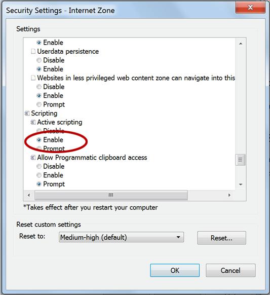 Enable javascript enable scripting ccuart Gallery