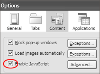 Enable javascript select enable javascript ccuart Gallery