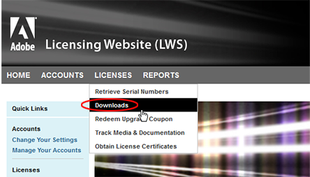 Choose Licenses, Downloads