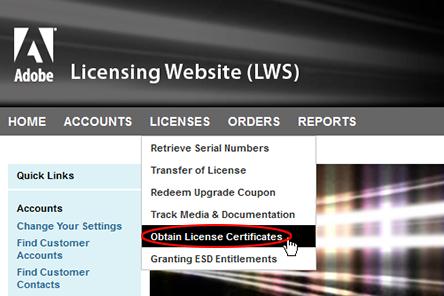 volume licensing adobe